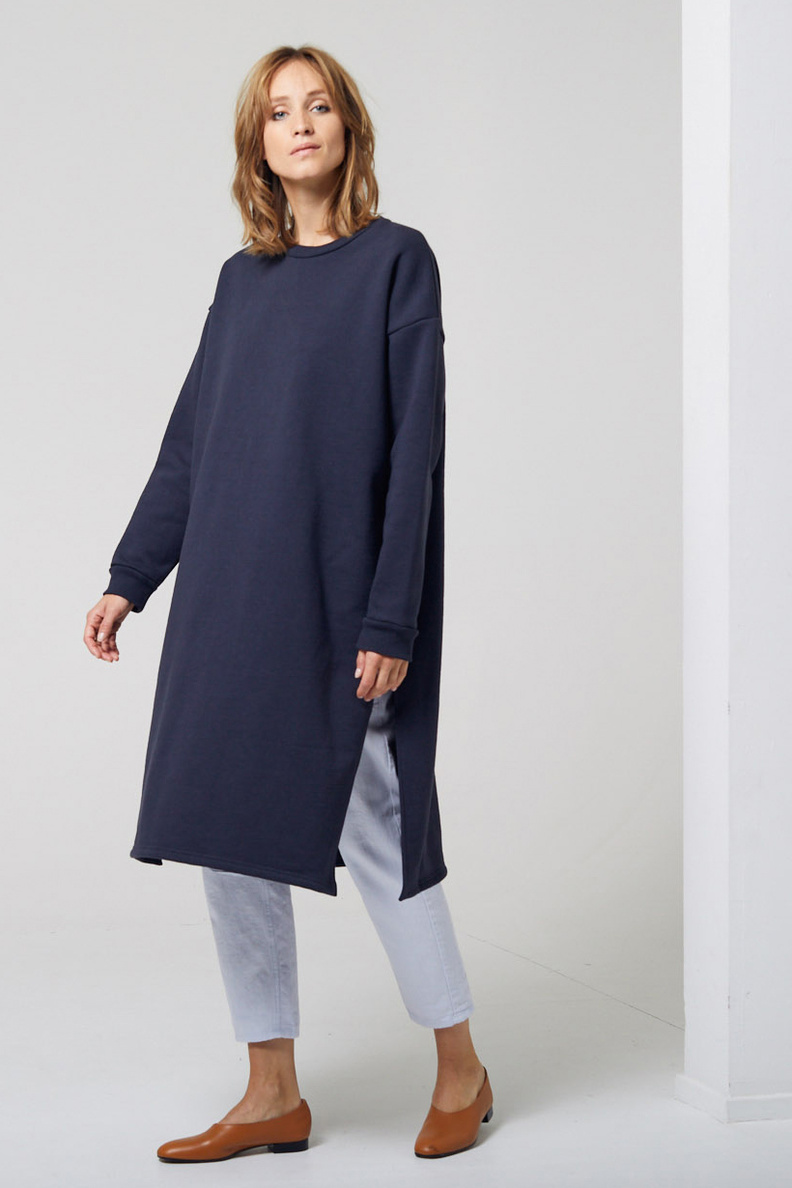can pep rey sweaterdress navy