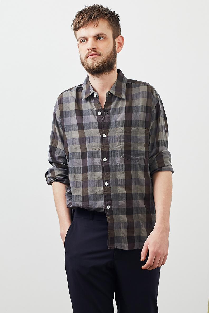 sage de cret basic shirt check