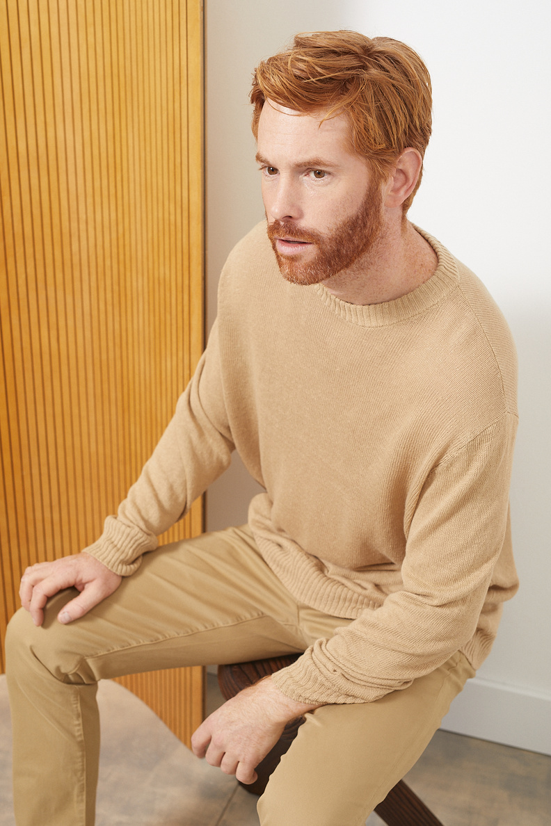 hope compose sweater oat beige